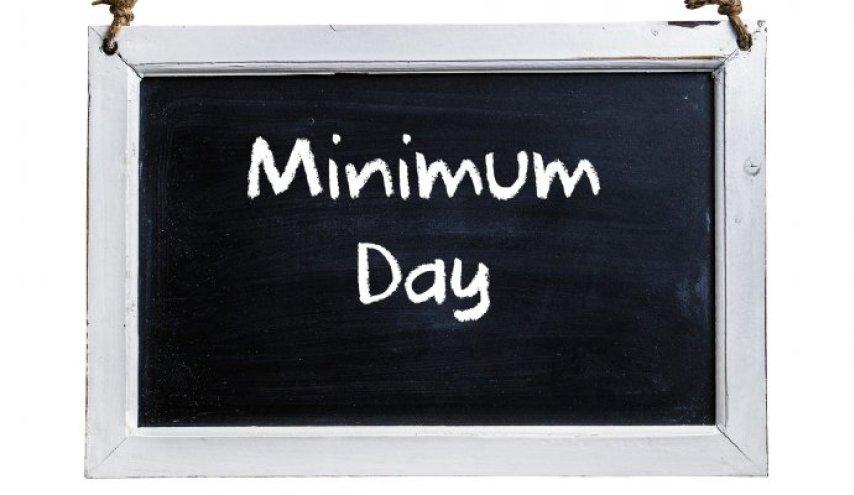 Minimum Day December 21