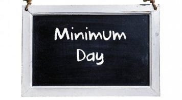 Minimum Day November 20